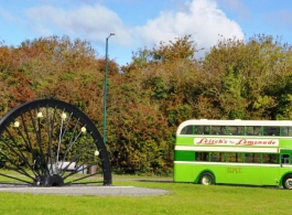 Vintage wedding bus for hire in Bridgwater